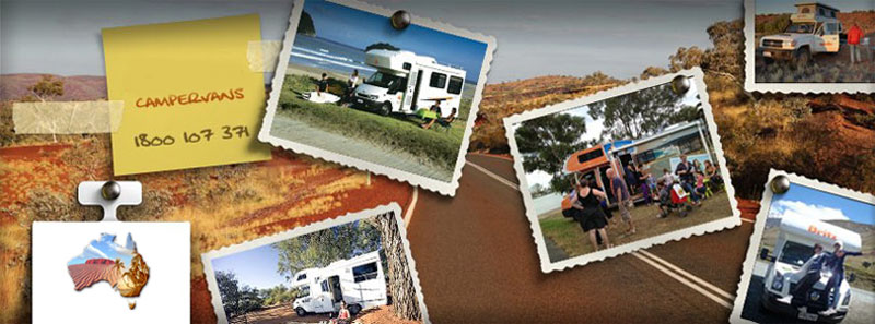 Travel around Australia  in a 4wd camper or 2wd motorhome rental from us.