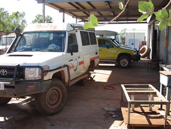 Imintji vehicle repair shop - Over the Range