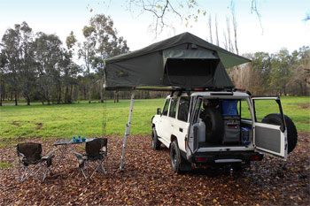 RAB rooftoptent campers